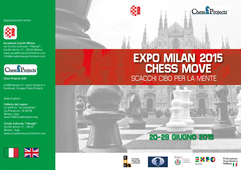 EXPO MILAN 2015 CHESS MOVE