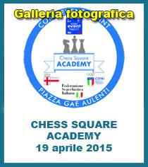 1° Torneo Giovanile Chess Square Academy - 19/04/15