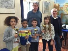 """5° TORNEO GIOVANILE 2016 """"Scacchi Sport della mente"""""""