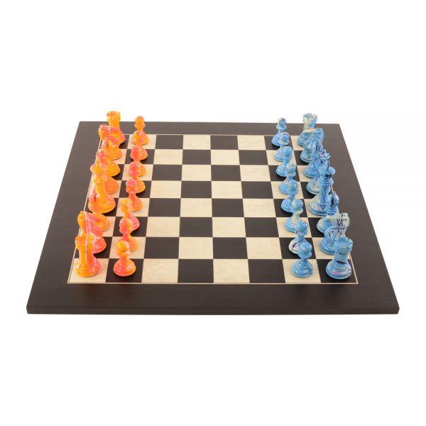 Art Chess Darren MacPherson Blue v Yellow1000