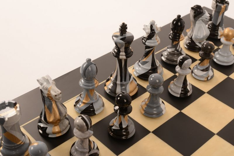 Art Chess by Kate Brinkworth #4 Bespoke 001