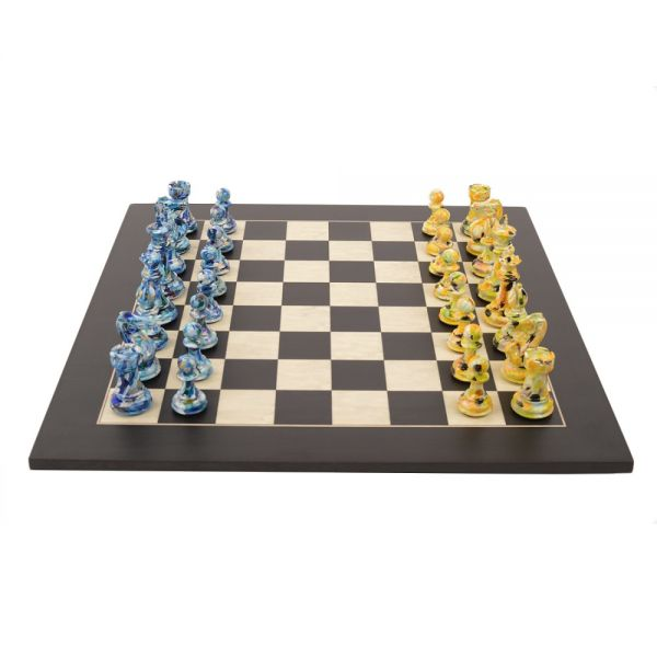 Art Chess by Olivia Pilling #5 Blue Yellow lowres0