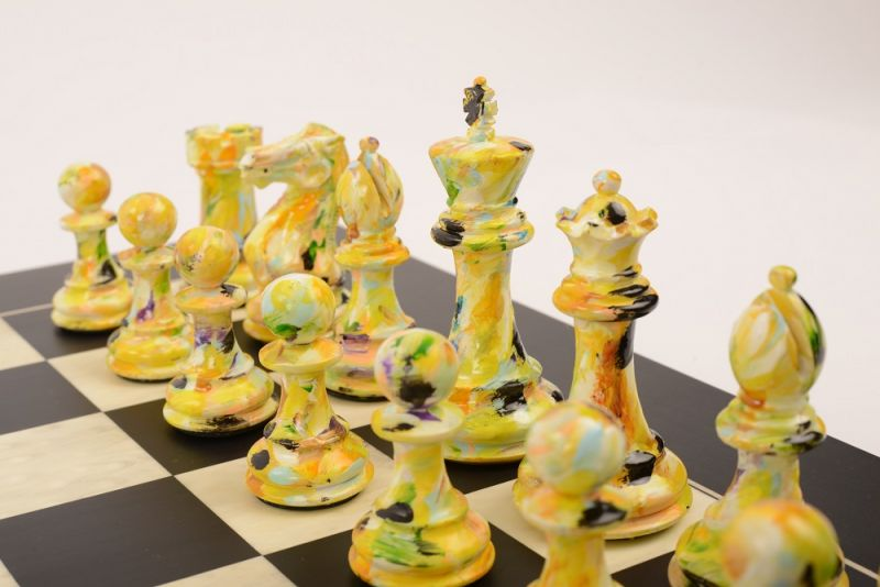 Art Chess by Olivia Pilling #5 Blue Yellow lowres1
