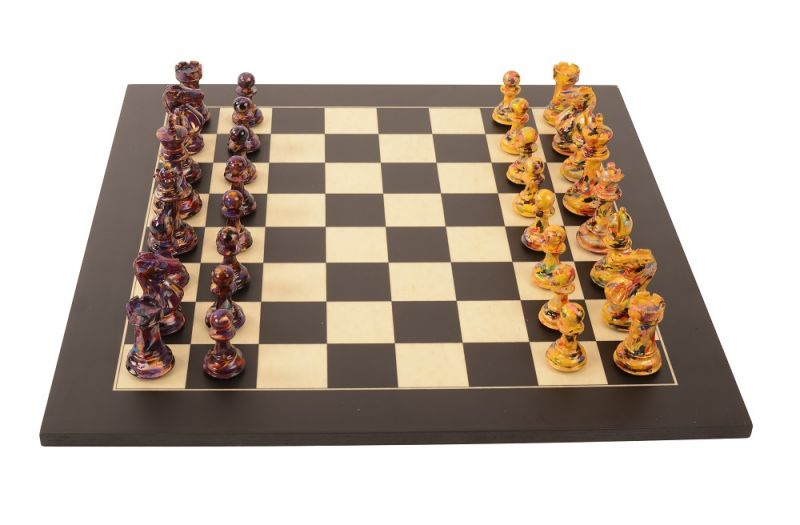 Art Chess by Olivia Pilling #7 Bespoke 000