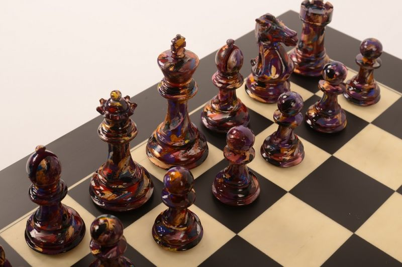 Art Chess by Olivia Pilling #7 Bespoke 001