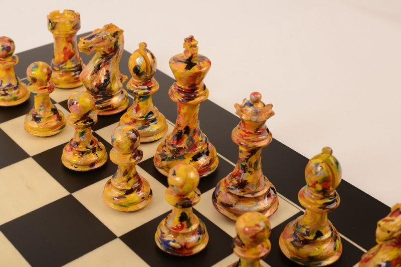 Art Chess by Olivia Pilling #7 Bespoke 002