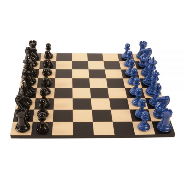 Bold Chess CobaltBlack1000