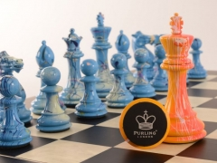 Art Chess Darren MacPherson Blue v Yellow 3 12000