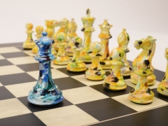 Art Chess by Olivia Pilling #5 Blue Yellow lowres2