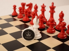 Bold Chess Classic Red v Gloss White close up 3 new