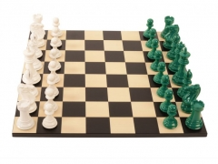 Bold Chess Emerald Green v Gloss White - cropped