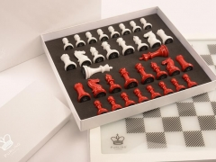 Packaging - Dark Chess in Classic Red