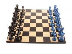 hires blue v black square