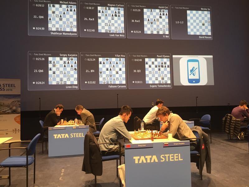 """""""Tata Steel 2016"""" (Amsterdam)"""