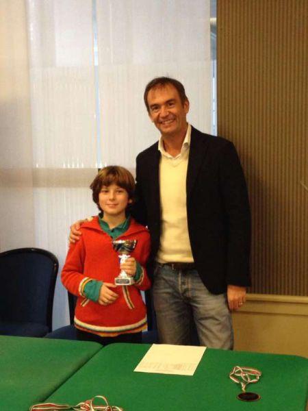 """Galleria fotografica del Torneo Giovanile """"Scacchi e Sport"""", Canottieri Olona 22/12/13"""