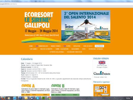 3° OPEN INTERNAZIONALE DEL SALENTO 2014