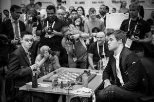 Caruana - Carlsen, Olimpiadi di Tromso 2014
