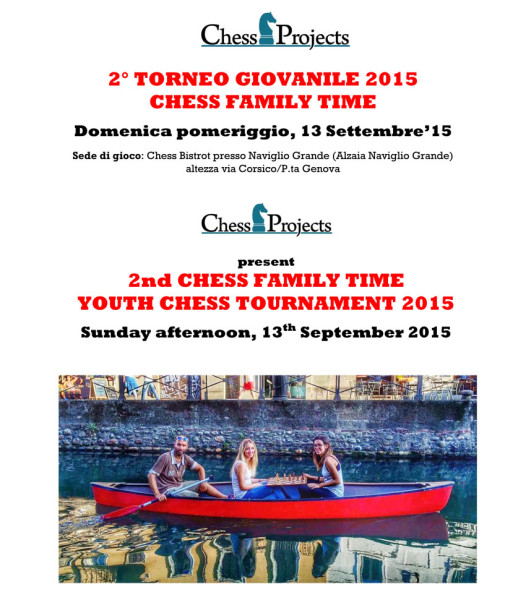 2° Torneo Giovanile 2015 Chess Family Time