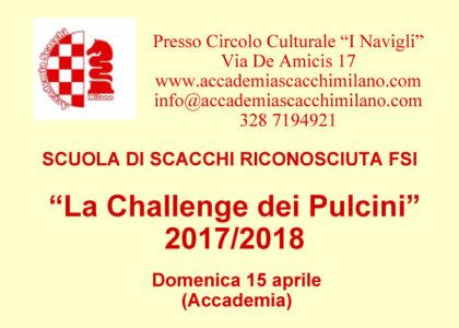 La Challenge dei Pulcini - 15 aprile 2018