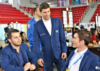 43rd CHESS OLYMPIAD BATUMI GEORGIA 2018 - 8TH ROUND