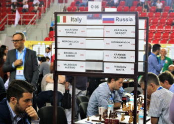 43 OLYMPIAD BATUMI GEORGIA 2018 – 9TH ROUND