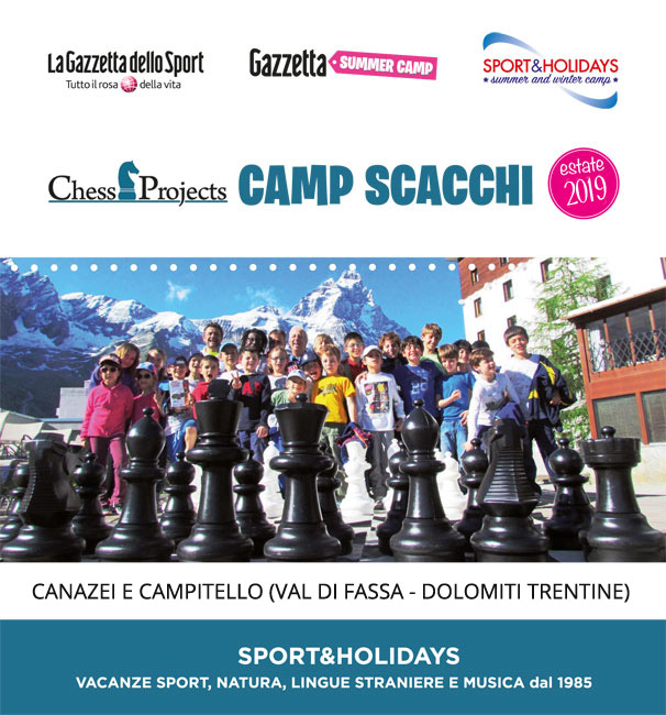 GAZZETTA SUMMER CAMP ESTATE 2019