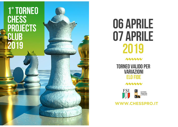 1° Torneo Chess Projects Club 2019