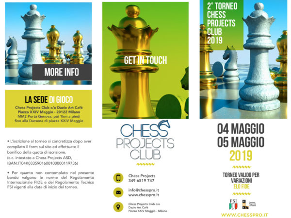 2° Torneo Chess Projects Club 2019