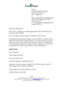 Candidatura per ospitare raggruppamento del CIS 2019 gironi serie Promozione della Lombardia