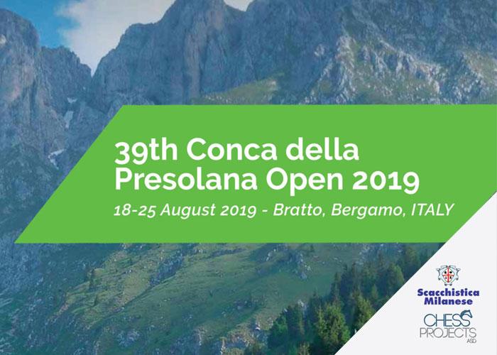 39th Conca della Presolana Open 2019