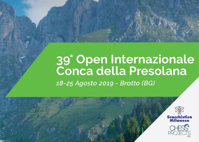 39° Open Internazionale Conca della Presolana