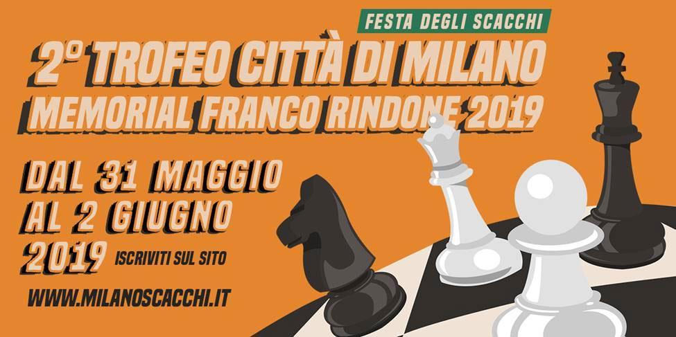 2° Trofeo Città di Milano - Memorial Franco Rindone 2019