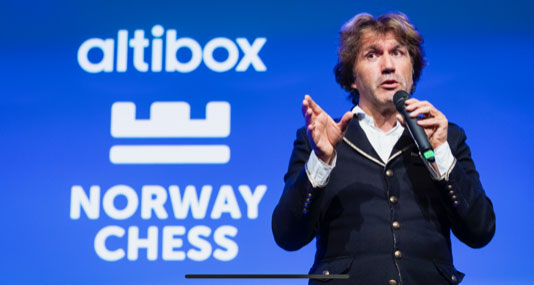 Altibox Norway Chess Armageddon song 'Queen of the Knight'
