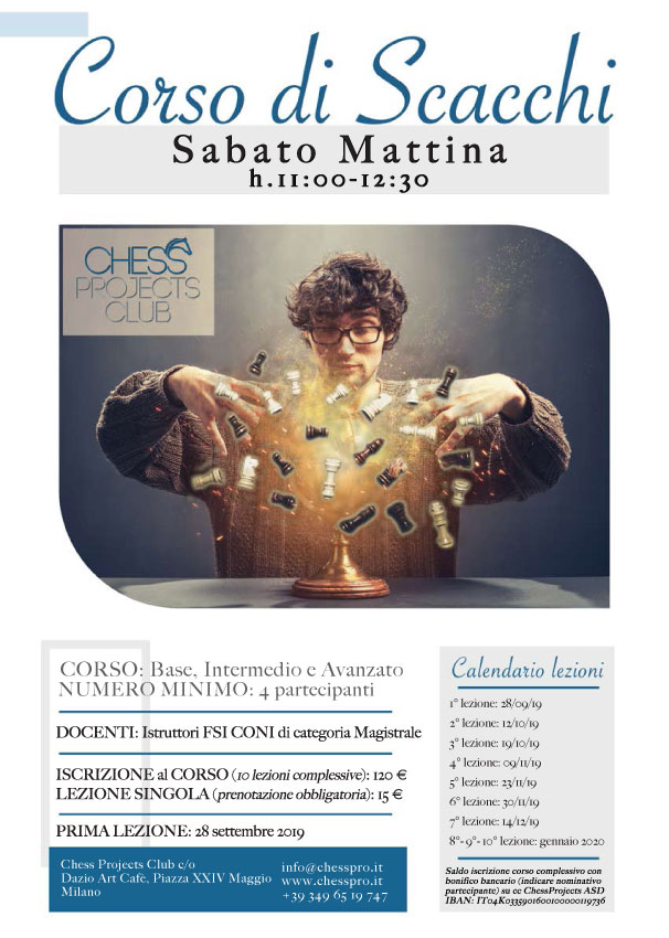 Chess Projects ASD - Corso di scacchi