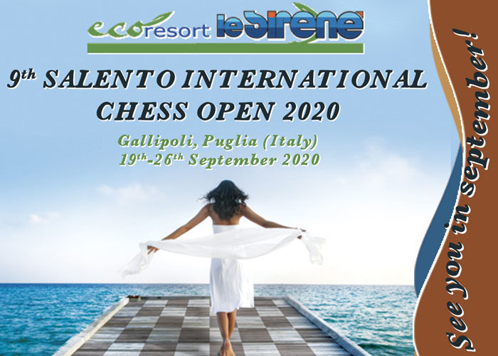 9TH SALENTO INTERNATIONAL CHESS OPEN 2020