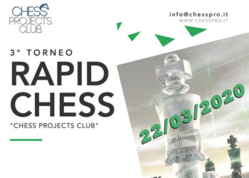 3° TORNEO RAPID CHESS CHESS PROJECTS CLUB 2020