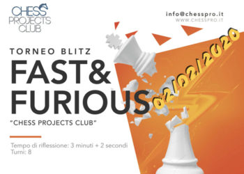 TORNEO BLITZ FAST&FURIOUS CHESS PROJECTS CLUB - 02/02/2020
