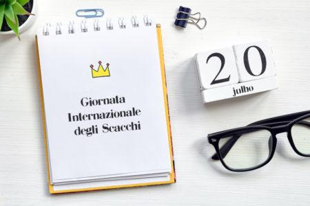 Giornata Internazionale degli Scacchi - 20 luglio 2020