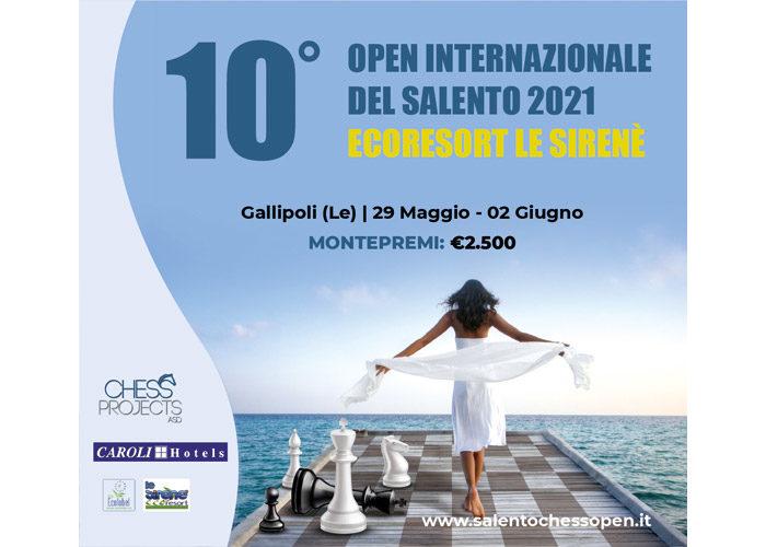 10° OPEN INTERNAZIONALE DEL SALENTO 2021