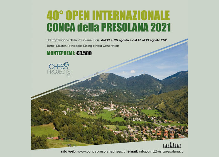 40° OPEN INTERNAZIONALE CONCA DELLA PRESOLANA 2021